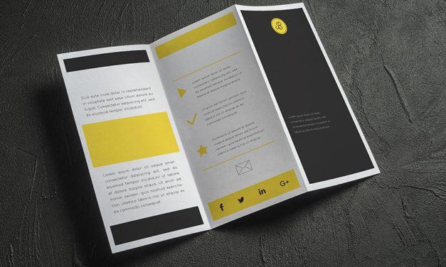 11 dicas de como criar um folder com conteúdo relevante.