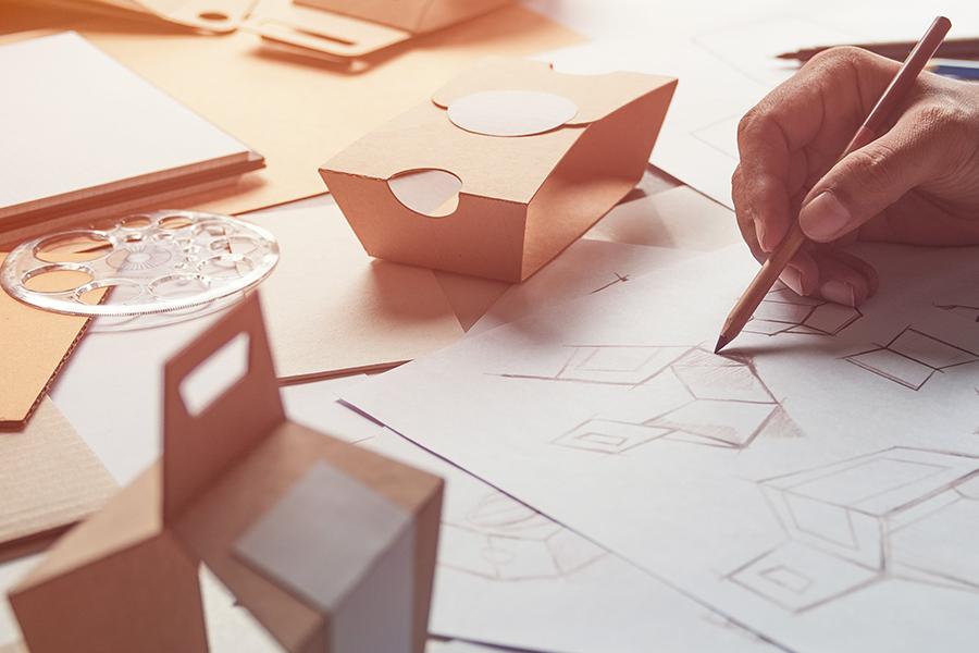 4 dicas de como criar um design de rótulos ou embalagens.